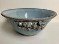 Sky Blue Rose bowl Lrg
